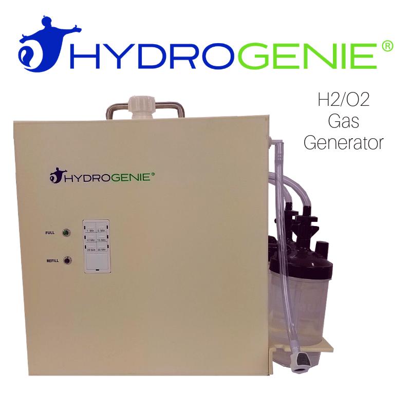 hydrogen and oxygen gas machine