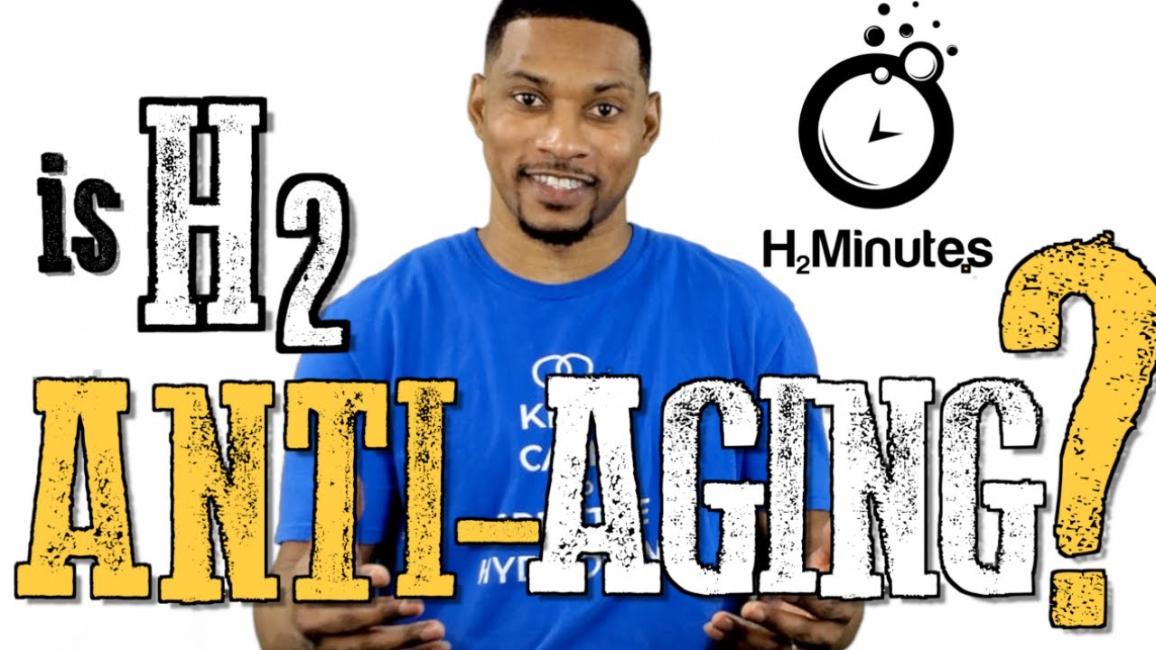 Hydrogen for ANTI-AGING? - Ep. 47 - H2Minutes