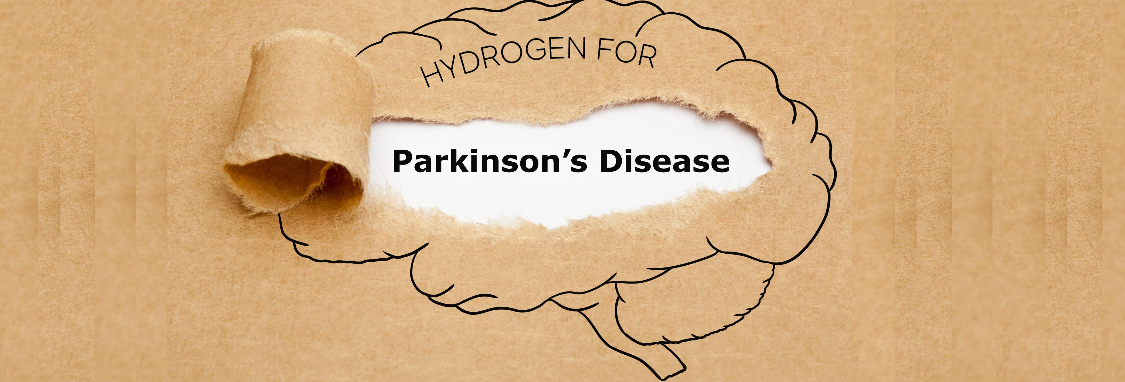 Hydrogen water benefits for Parkinson's Disease.