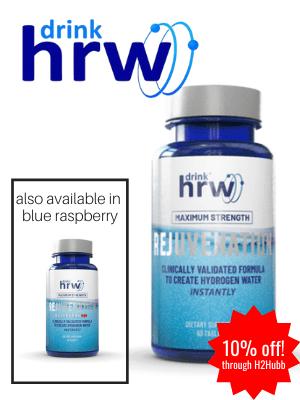 DrinkHRW hydrogen tablets
